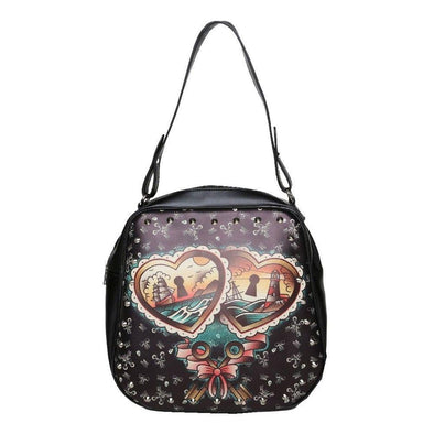 Heart Lock Purse