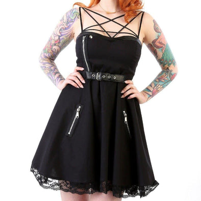 Pentagram Motorcycle Dress