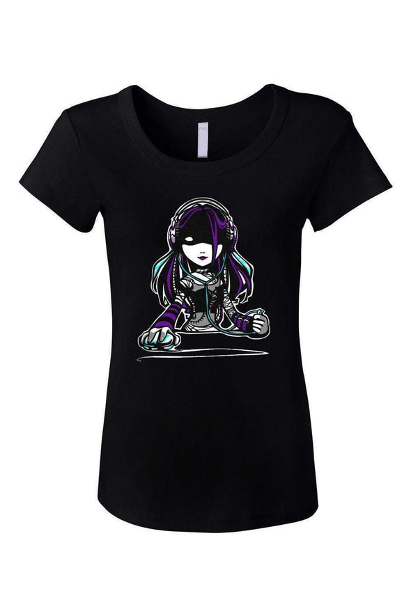 Gamer Girl Scoop Neck Tee
