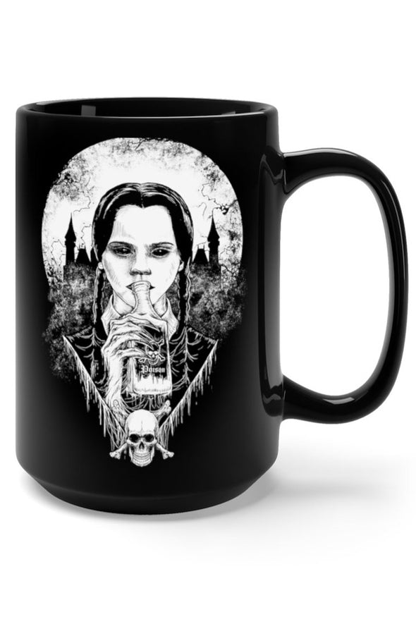 Wednesday Addams Poison XL 15oz Coffee Mug