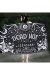 Too Fast Dead Hot Ouija Rectangle Shaped Beach Towel - Vampirefreaks Store