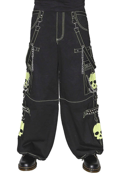 Tripp Super Skull Pants [Lime Skulls]