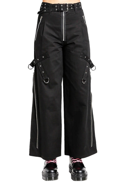 Tripp Ladies Super Side Zip Pants - Vampirefreaks Store