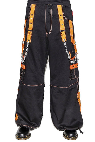 Tripp Orange Zip Pants - Vampirefreaks Store