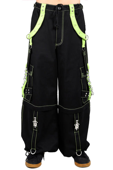 Tripp X-Pants [Black/Lime] - Vampirefreaks Store