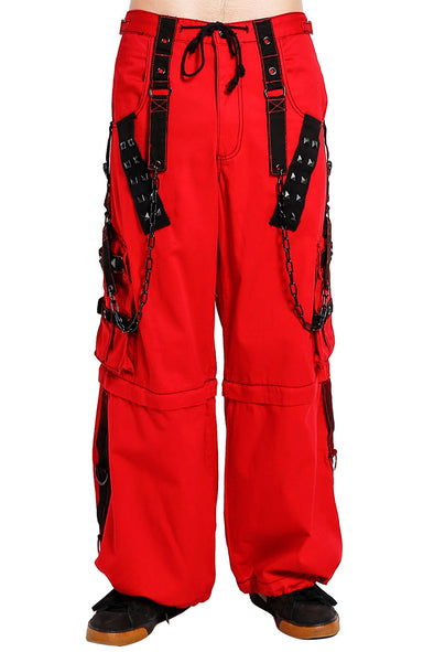 Tripp Red Stud and Chain Pants - Vampirefreaks Store