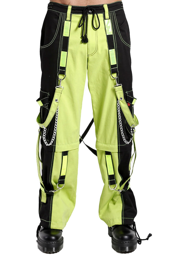 Tripp NYC Limelight Lime Green Pants - Vampirefreaks Store