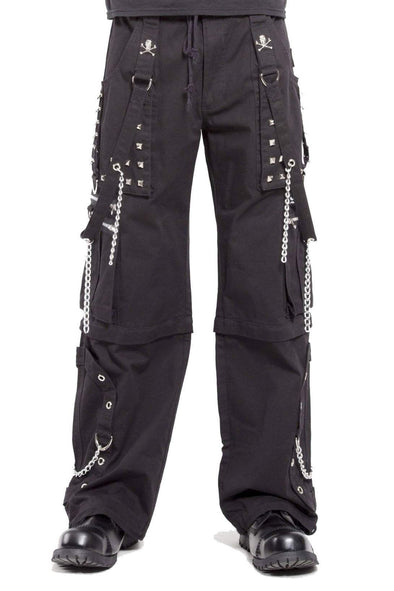 Tripp Black Stitch Step Chain Pants
