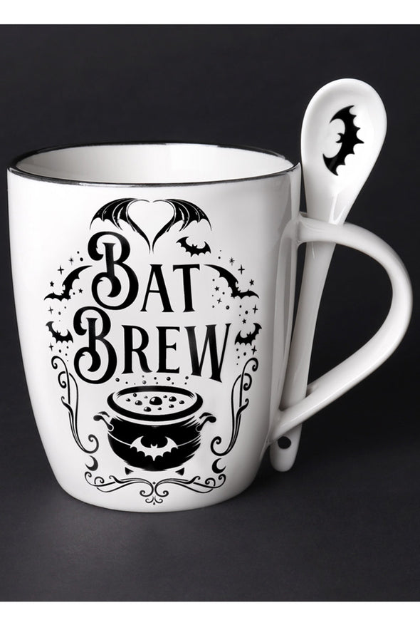 Bat Brew Mug & Spoon Set