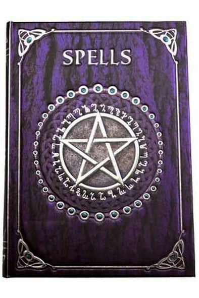 Purple Spell Book Journal - Vampirefreaks Store