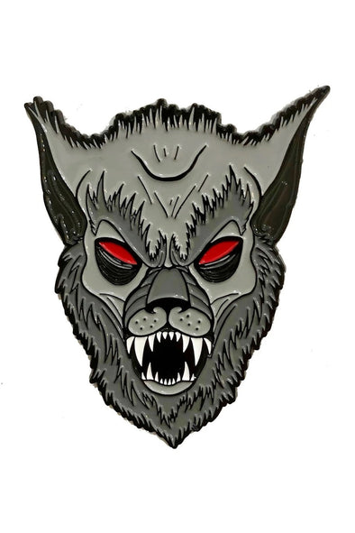 Graves Monster Werewolf Enamel Pin