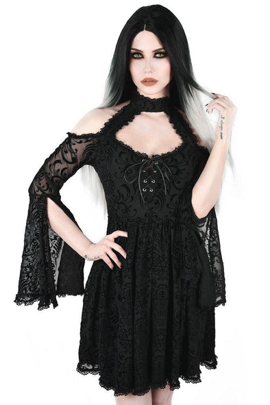 Killstar Beyond Dawn Maiden Dress - Vampirefreaks Store