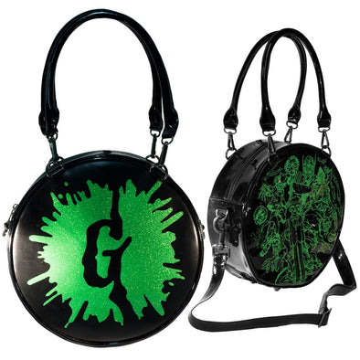 Kreepsville Goosebumps G Splat Glitter Purse Bag