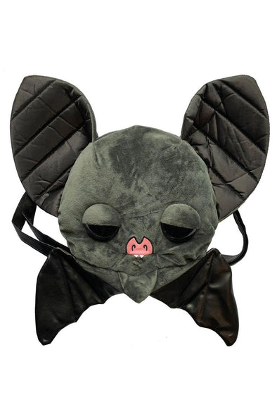 Kreepsville Sugarfueled Bat Black Plush Bag - Vampirefreaks Store