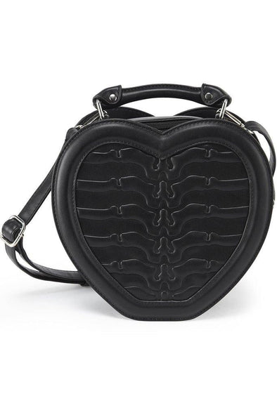 Killstar Black Heartz Handbag