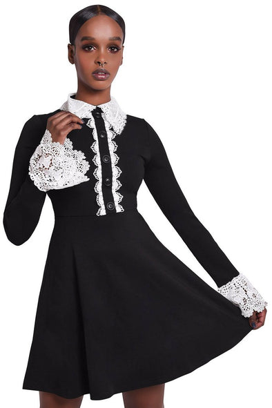 Killstar Blessed Be Collar Dress - Vampirefreaks Store
