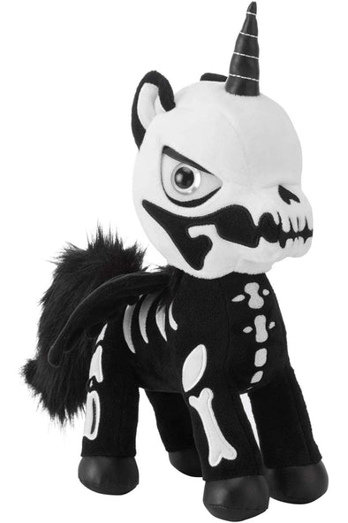 goth kawaii unicorn plush toy