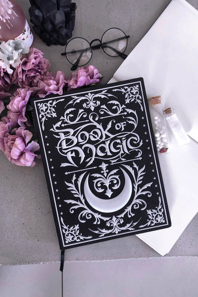 Book of Magic Large 3D Journal