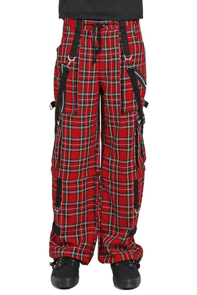 Tripp Clash Pants [Red Plaid]