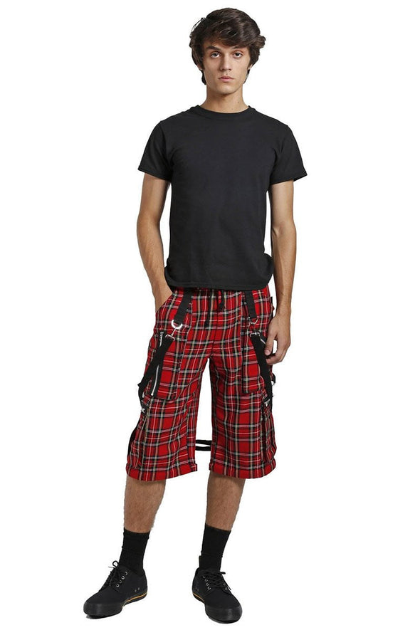 Tripp Clash Pants [Red Plaid] - Vampirefreaks Store