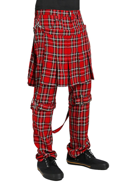 Tripp Double Bumflap Pants [Red Plaid]