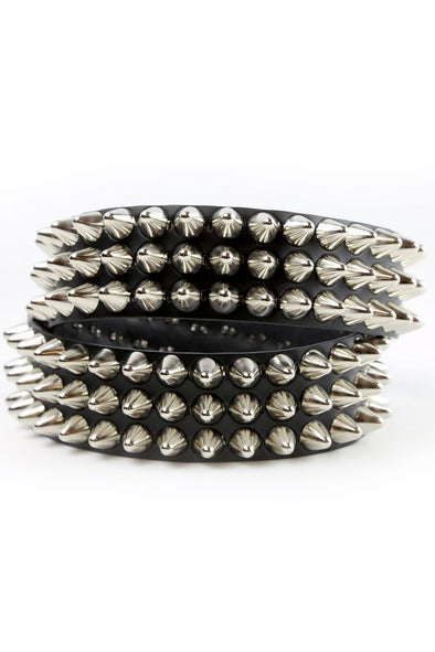 Chaos Cone Stud Belt [3 Rows]