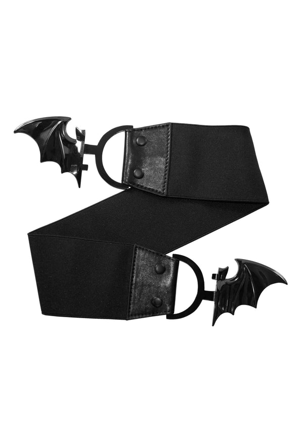 Bat Elastic Waist Belt (Black Bat)