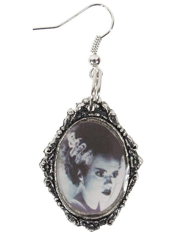 Rock Rebel Bride of Frankenstein Earrings (metal) - Vampirefreaks Store