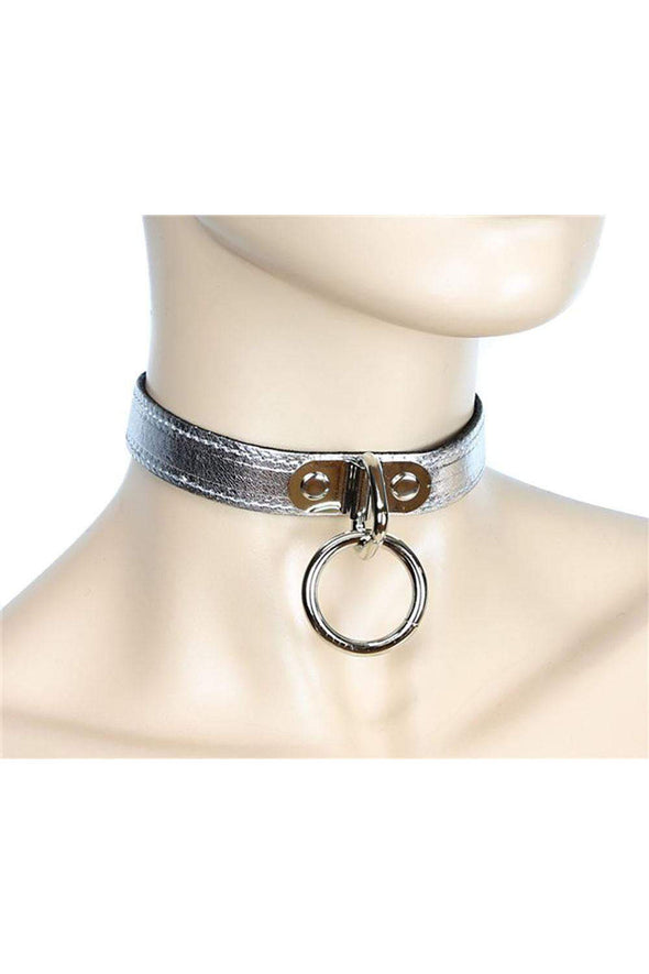 Cut Throat O-Ring Collar [Multiple Colors Available]