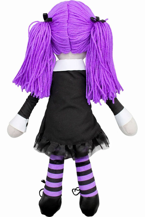 creepy rag doll toy