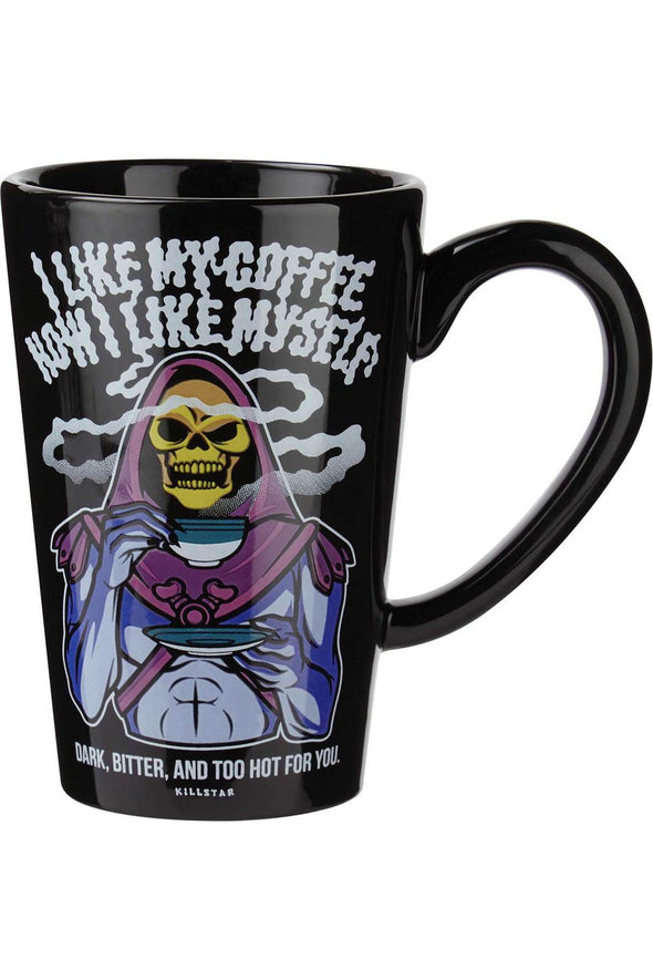 Killstar Skeletor Dark & Bitter Tall Mug - Vampirefreaks Store
