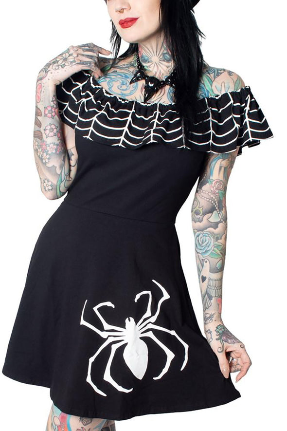 Goth Rockabilly Dress