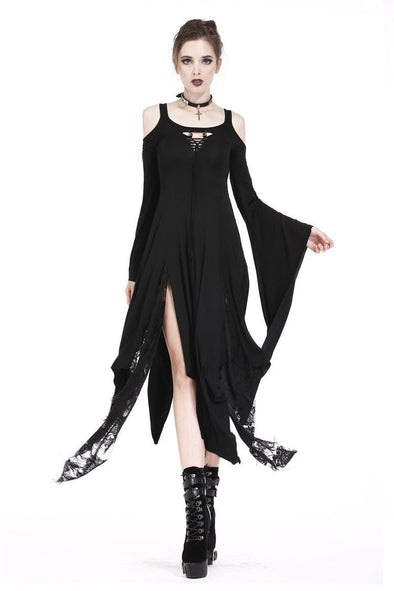 Dark In Love Necromancer Knitted Long Dress