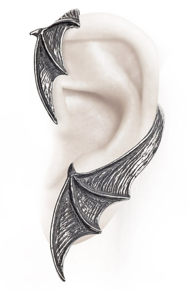 A Night with Goethe Batwing Earwrap Earring