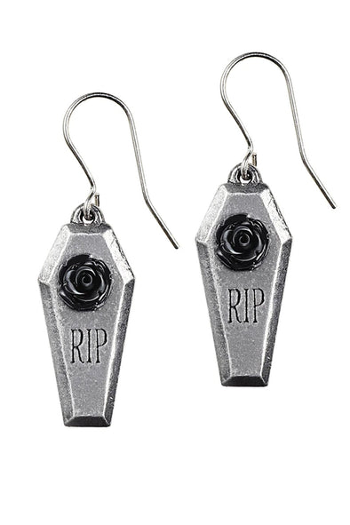 RIP Rose Earrings