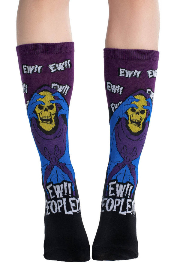 Killstar Skeletor Ew People Socks - Vampirefreaks Store