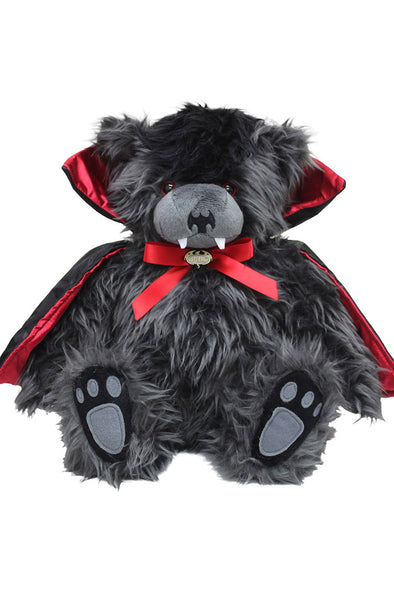 Ted The Impaler Vampire Bear Plush - Vampirefreaks Store