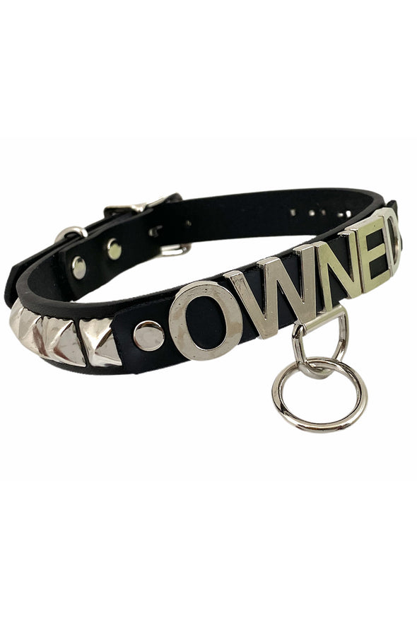 Owned Bondage Collar