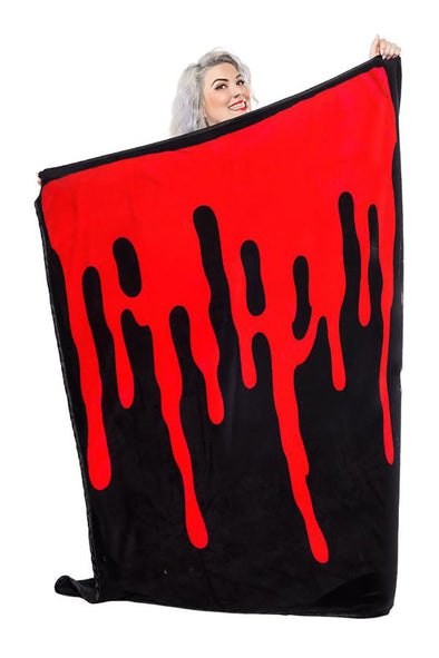 Bloody Throw Blanket