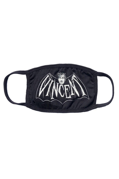 Kreepsville Vincent Price Bat Face Mask