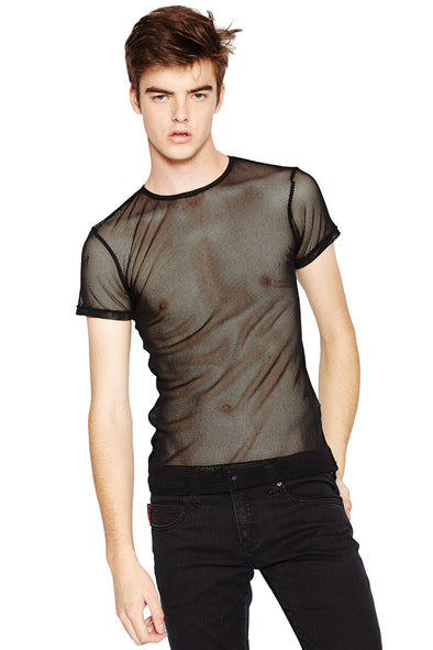 Tripp Short Sleeve Fishnet