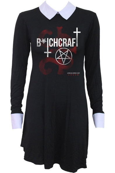 Coven Bitchcraft American Horror Story PeterPan Collar Dress - Vampirefreaks Store
