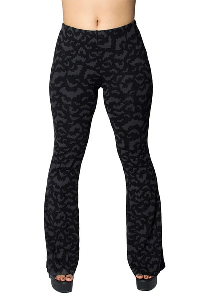Bat Repeat Flare Leggings