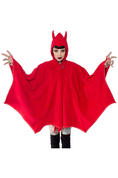 Kreepsville Devil In Disguise Web Cape