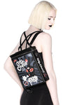 novelty goth backpack