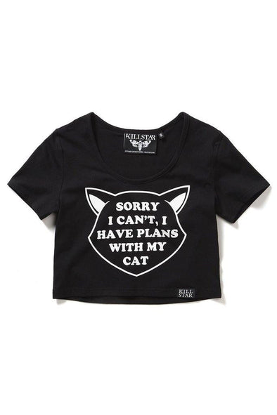 Killstar Got Plans Scoop/Crop Top
