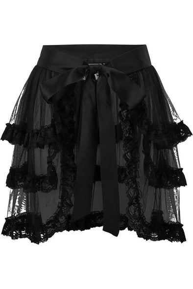 Killstar Graced Bustle Skirt - Vampirefreaks Store