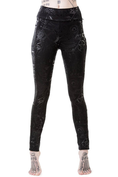 Killstar Grave Girl Leggings