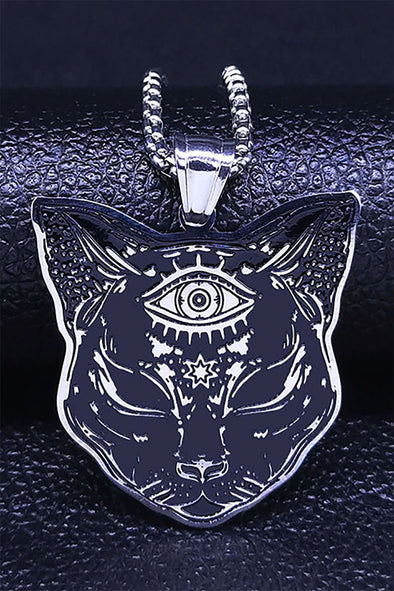 Curse of the Black Cat Necklace