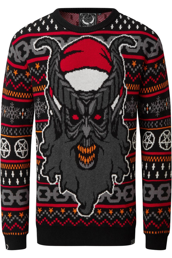 Killstar Hail Santa Knit Christmas Sweater [Unisex]